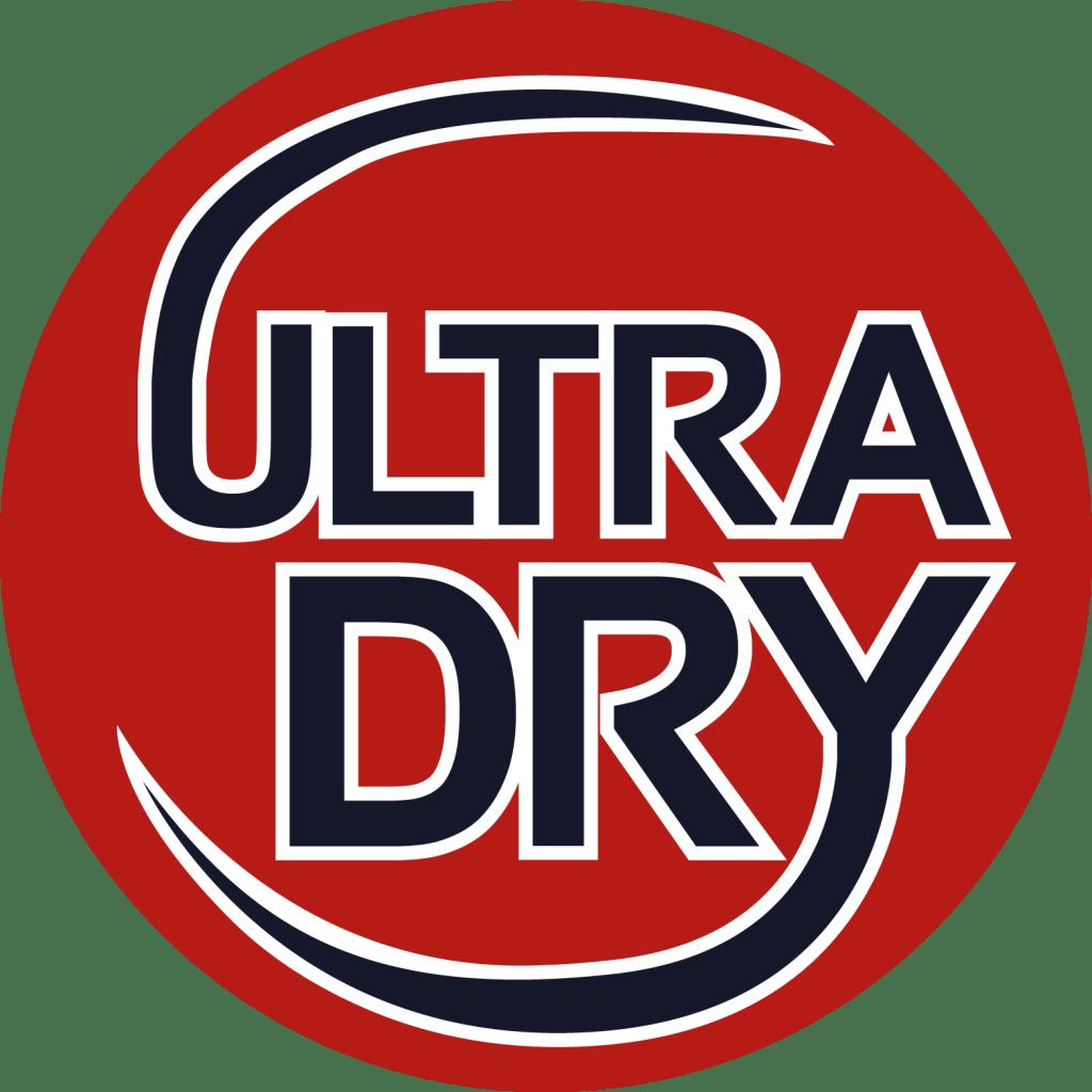 ultra dry logo