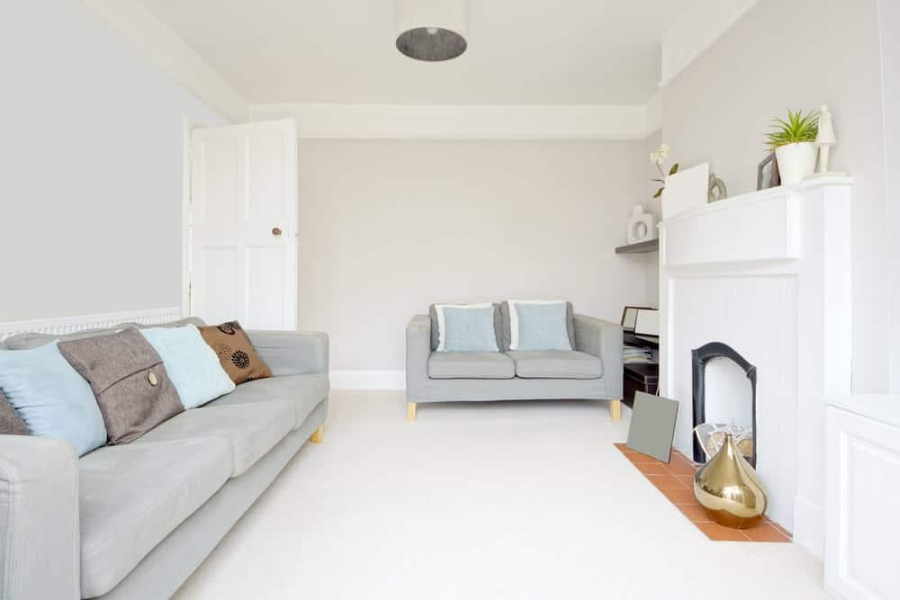 a cozy living room, ultra dry newcastle carpet cleaning